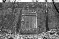 Locked door. Schuylkill River Trail. Valley Forge National Park, PA