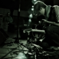 Benoit Pioulard plays a set during A Winged Victory For The Sullen\'s tour. West Park Presbyterian Church New York