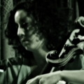Laura Lutzke, violin and Clarice Jensen, cello. A Winged Victory For The Sullen. West Park Presbyterian Church New York