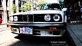 BMW 325is(e30) on 22nd street. I guess this is a 1989 model. It had the BBS wheels