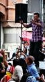 Eslam Farouk from Egypt during NAAP\'s NY street festival 2010