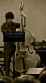 Robert Black (double bass) from Bang On A Can All-Stars while performing Snakes and Ladders by Fred Frith
