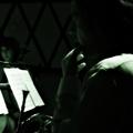 CJ Camerieri, Clarice Jensen and Nadia Sirota. Beautiful Mechanical debut, yMusic ensemble. Rockwood Music Hall, NYC