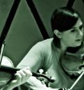 Rob Moose & Nadia Sirota during Beautiful Mechanical debut, yMusic ensemble. Rockwood Music Hall, NYC