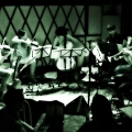Rob Moose, Nadia Sirota, Clarice Jensen, Hideaki Aomori, Alex Sopp and CJ Camerieri . yMusic ensemble launch party for Beautiful Mechanical. Rockwood Music Hall, NYC