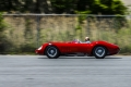 Fred Simeone driving the 1956 Maserati 300S. Great Drivers Demo Day. Simeone Foundation Automotive Museum. Philadelphia, PA