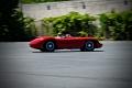 Fred Simeone driving the 1956 Maserati 300S. Great Drivers Demo Day. Simeone Foundation Automotive Museum. Philadelphia, PA
