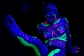 Samantha Star and the Black Light Body Paint. Photographers in Philadelphia. Philadelphia, PA