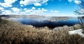 Panoramic view from the observation tower at Bear Swamp Pool looking north. Bombay Hook National Wildlife Refuge Smyrna, DE
