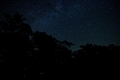 Milky Way galaxy. High Knob Overlook. Worlds End State Park, Hillsgrove, PA
