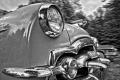 1953 Packard Cavalier. Chesterwood Vintage Motorcar Festival. Stockbridge, MA