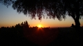 sunset, Christmas 2009. Dody\'s place in Fullerton, CA