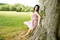 \The tree will always be there, hopefully\.  Sarah Miranda, model. Taken near Pen Ryn Mansion. Bensalem, PA
