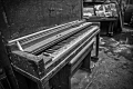 Dropped Pianos. Bureau Brothers Foundry in North Philadelphia, PA