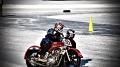 ATVs, Dirtbikes & Sidehacks racing on Hamilton Rod & Gun club's oval track in Sturbridge, Mass