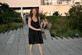 Nibal, dancing. High Line, NY