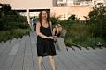Nibal, dancing. High Line, NY