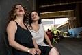 Nibal, Soulafa & the breeze. High Line, NY