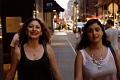 Nibal and Soulafa walking Midtown Manhattan