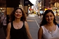 Nibal and Soulafa walking Midtown Manhattan