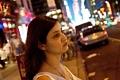 Soulafa and the contemplative stare. Midtown Manhattan