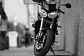 Street Triple, Triumph Motorcycles. Main Street, Manayunk. Philadelphia, PA