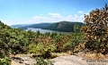 The Hudson river and valley as seen from one of Mount Taurus\'s peaks along the white trail