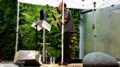 Evan Ziporyn at the sculpture garden, Noguchi Museum in New York part of the