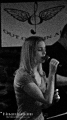 Laura Funk, the lead vocalist.  Out Of Thin Air at The Ivory, Deep River CT