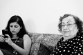 Soulafa and Omayma Khanom. City Island, NY