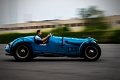 Kevin Kelly driving the 1936/48 Delahaye 135s/175S. Simeone Museum Demo Day: French Revolution. Philadelphia, PA