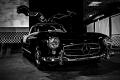 1956 Mercedes-Benz 300SL Gullwing. Simeone Foundation Automotive Museum. Philadelphia, PA