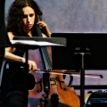 Lauren Radnofsky & Kevin McFarland performing Cruel Sister by Julia Wolfe with Signal ensemble. Bang on a can marathon 2011. World Financial Center, NYC