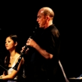 Vicky Chow(piano), Evan Ziporyn (Clarinets) & Philip Glass performing Glass\' Music in Similar Motion and Closing. Bang on a can marathon 2011. World Financial Center, NYC