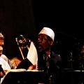 Sun Ra Arkestra performing their own Jazz work. Bang on a can marathon 2011. World Financial Center, NYC