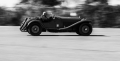 1934 Alfa Romeo 8C 2300 Spyder(Castagna) driven by Fred Simeone at the Simeone Foundation Automative Museum part of their Why Did Brooklands Save So Many Cars Demo Day. Philadelphia, PA