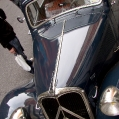 reminds me of Tin Tin! Citroen Traction Avant in NYC