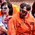The Zombie collective: Two inmates, two nurses and more. Zombie March VII, Boston, MA
