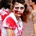 Brains....Word of the day. Zombie March VII, Boston, MA