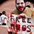 Need a free hug? Zombie March VII, Boston, MA