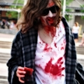 Bloody Mary. This guy did a great job. Zombie March VII, Boston, MA