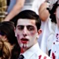 Dracula. Zombie March VII, Boston, MA