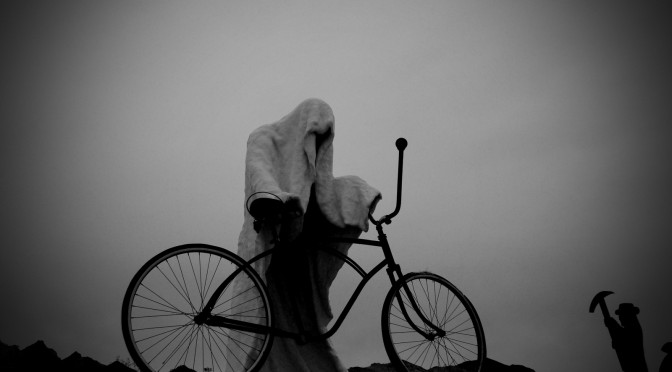 Ghost Rider 1984 by Charles Albert Szukalski. Goldwell open air museum