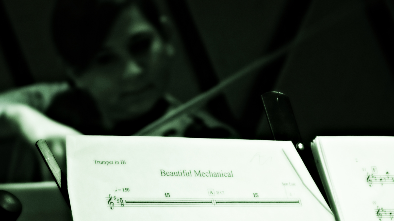 yMusic Ensemble's Nadia Sirota during the opening notes of Beatiful Mechanical. Rockwood Music Hall, NYC