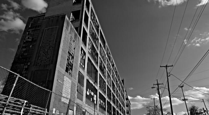 Abandoned North Philadelphia N 16th Street and W Indiana Avenue.