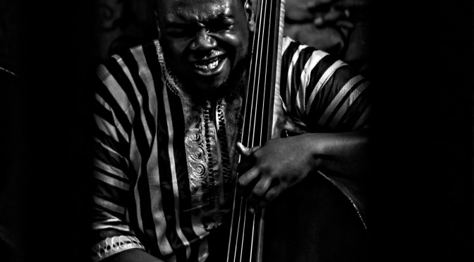 The Abraham Burton Quartet: Dezron Douglas(Bass) at Smalls Jazz Club, NYC