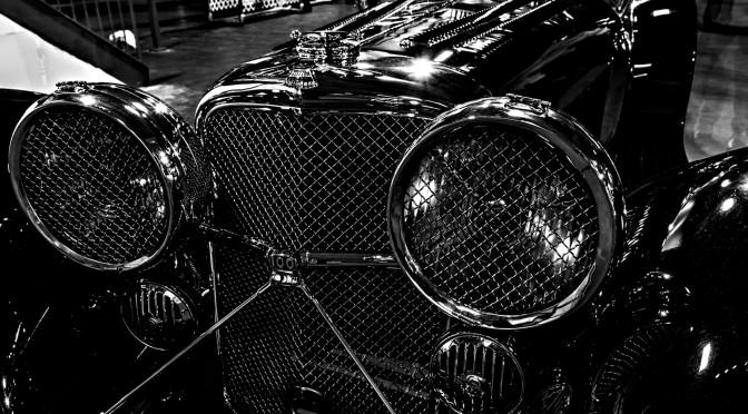1935 Jaguar 3.5 Litre SS 100. Rally Demo Day. Simeone Foundation Automotive Museum. Philadelphia, PA