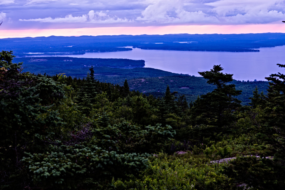 The Cadillac of all mountains. Cadillac Mountain. Acadia National Park, ME